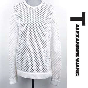 T ALEXANDER WANG | Mesh Knit Sweater - Rare!